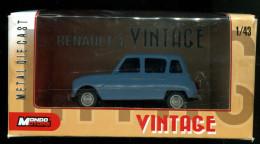 Renault 4 - R4 - 4L -  R4 Bleue  (Vintage) - Unclassified