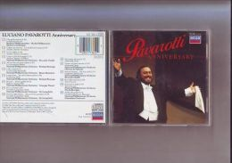 Cd - Luciano Pavarotti - Anniversary - 16 Titres - Religion & Gospel