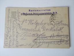 Österreich Ganzsache 1916 K.u.K. Etappenpostamt 330. Kontumazstation Der K.u.K. Salubritätskommission Nr. 5 - Entiers Postaux