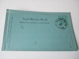 Österreich / Bosnien U. Herzegowina 1888 Kartenbrief K 3 K.K. Milit. Post XX Zwornik. Sehr Guter Zustand! Gebraucht - Bosnien-Herzegowina