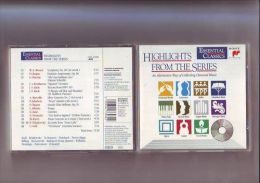 Cd - : Essential Classics / Highlights From The Series 15 Titres - Classique