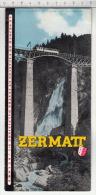Zermatt - Station Haut-alpine D'été Et De Sport D'hiver - Dépliants Touristiques