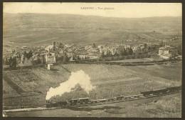 LAGNIEU Vue Générale Jolie Locomotive Toute Vapeur () Ain (01) - Francia