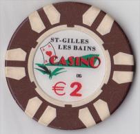 Casino De La Réunion, St Gilles Les Bains 2 € - Casino