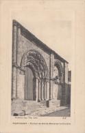 Cp , 79 , PARTHENAY , Portail De Notre-Dame-de-la-Couldre - Parthenay