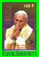 1379** Visite Du Pape Jean-Paul II Au Rwanda / Bazoek Van Paus Johannes Paulus II Aan Rwanda - RWANDA - Rwanda