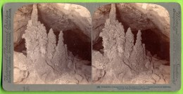 Stalagmites, Arizona,  Underwood, Grand Canyon - Stereoscopic