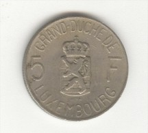 5 Francs Luxembourg 1962 - Luxembourg
