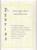 PERFORE-SUPERBE COLLECTION A VOIR-36 PAGES AVEC LETTRES,VARIETE,EXPLICATIONS,ET AUTRES PAYS-SUPERBE - Gezähnt (perforiert)
