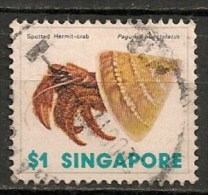 Timbres - Asie - Singapour - 1977 - $ 1 -