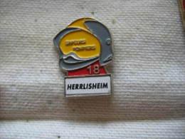 Pin´s Des Sapeurs Pompiers De HERRLISHEIM - Feuerwehr