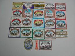 45 Beerlabels Brauerei Viechtach - Bière
