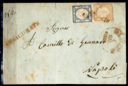 """Lecce-00387b - Piego Assicurato (senza Testo) - Siglato """"G. Chiavarello"""". - Storia Postale"""