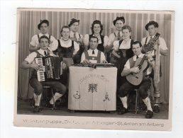 Jan15   67633      St Anton Am Arlberg  Gruppe De Musiciens  D'arlberger   ( Photo  150 X 115 ) - Autres