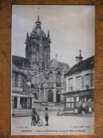 ARGENTAN (61) - L'église Saint-Germain Vue De La Place Du Marché - Argentan