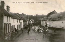 Fête De Jeanne D'Arc - (3 Oct.1909) - PONT DE METZ - - Francia