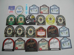 "60 Beerlabels From Germany Stadt ""V"" - Bier"
