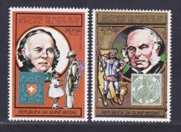 GUINEE-BISSAU AERIENS N°   52 & 53 ** MNH Neufs Sans Charnière, TB (D0001) Sir Rawland Hill - Guinée-Bissau
