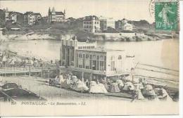 253 - PONTAILLAC - LA RESTAURATION ( Animées  ) - France