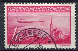 Liechtenstein                     PA   15   Oblitéré - Air Post