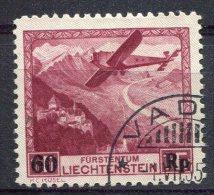 Liechtenstein                     PA   14   Oblitéré - Air Post