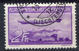 Liechtenstein                     PA   16   Oblitéré - Poste Aérienne