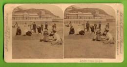 Llandudno, Wales, Beach, Plage, Strohmeijer - Fotos Estereoscópicas