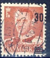 ##K814. Denmark 1956. Provisorie. Michel 361/ AFA 364a. Used(o) - Dänemark