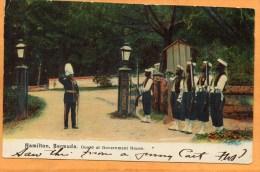 Hamilton Guards Bermuda 1905 Postcard - Bermuda