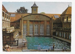 LUXEUIL LES BAINS EN 1966 - N° 6941 - LA PISCINE - CPSM GF VOYAGEE - Luxeuil Les Bains
