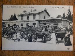 BAGNOLES-de-L´ORNE (61) - La Gare - Bagnoles De L'Orne