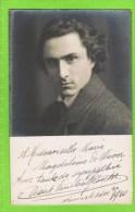 D�sir� Van Den Broecke 1891 -1941  Violist, Th�atre royal d'Anvers, dec. 1910