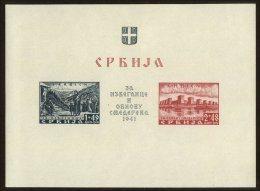 Serbia Scott #NB6, 1941, Never Hinged - Serbie
