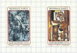 Saint-Marin N°1164, 1165 Neufs Avec Charnière Côte 2.75 Euros - San Marino