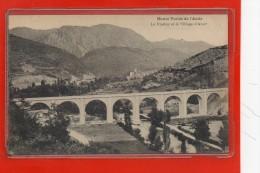 - AXAT -   La Haute Vallée De L´ Aude - Le Viaduc Et Le Village - Axat
