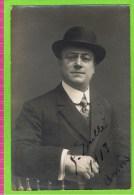 Guillaume Dull�  autographe, 1913 Th�atre Royal d'Anvers