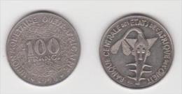AFRICA OVEST 100 FRANCHI ANNO 1996 - Monete