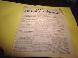 Gazette Judiciaire De Lyon1953 Saint Didier Au Mont D Or Tarare Saint Martin De Salencey - Invoices & Commercial Documents