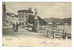 Suisse//Schweiz//Svizerra // Switzerland// Tessin // Lugano-le Quai - Cartes Postales