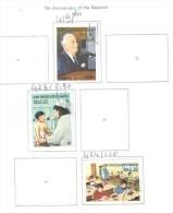 Laos Stamps 1982  Ann Rep. Scott.419+423+424+ See Scan - Laos