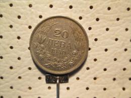 BULGARIA 20 Leva 1940 - Bulgaria