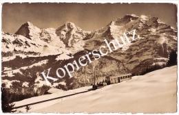 Bergbahn Grütsch - Mürren  1953   (z1861) - BE Bern