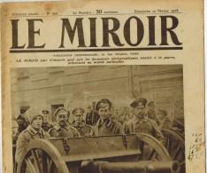 LE MIROIR N° 220 En 1918 GARDE ROUGE MOSCOU Métropolite Roumanie Main D'oeuvre Féminine Angleterre ZYDCOOTE GOTHA - Zeitungen