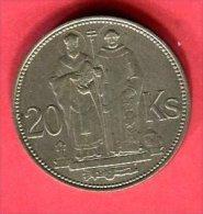 20 COURONNES  (KM 7.1  )   TTB  28 - Slovaquie