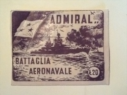Battaglia Aeronavale Con Busta Originale Edizioni Admiral Bologna --B 80 --- - Autres Collections