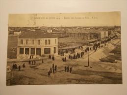 Carte Postale - LYON (69) - Exposition De Lyon 1914 - Entrée Côté Avenue De Saxe (12/60) - Lyon