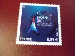OBLITERATION RONDE  SUR TIMBRE GOMME ORIGINE YVERT N°4575 - Frankreich