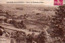 CPA LA TOUR D'AUVERGNE - ROUTE DE CHASTREIX ET BESSE - France