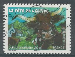 "France, Celebrations And Traditions, ""Fête De L'estive"", 2011, VFU - France"