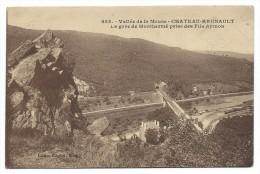 CHATEAU REGNAULT (BOGNY SUR MEUSE) -LA GARE DE MONTHERME PRISE DES FILS AYMON -Ardennes (08) -Ecrite - Other Municipalities